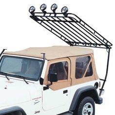 Expedition Rack, Jeep 87-95 YJ Wrangler - Roof Racks