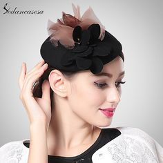 Vintage Black Wine Red Pillbox Hat Banquet Patry Wedding Headwear and Fascinators Like and share this pure awesomeness! #shop #beauty #Woman's fashion #Products #Hat