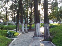 Parque Pasteur Pachuca hgo