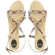 ASOS Canvas Flat Sandal