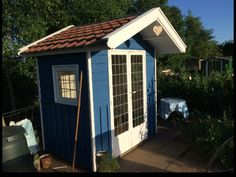 Self made shed on our allotment