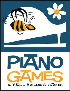 10 Piano Games for Kids (Digital Print) - Ramp up the fun with games that drill piano finger numbers, treble and bass clef note names, and basic rhythms. There's even a game that teaches kids how to make piano practice more productive. Learn more. Piano Lessons For Kids, Kids Piano, Music Lessons, Easy Piano, Art Lessons, Music Theory Games, Music Theory Worksheets, Piano Games, Piano Music