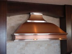 Copper P20 - Custom Copper Range Hood - Hoods by Hammersmith