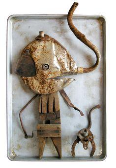 Sam Hundley - Elephant and Monkey