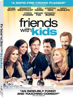 An all-star cast headlines the hilarious Friends with Kids on Blu-ray, DVD, and Digital Download July 17th from Lionsgate Home Entertainment. The film will also be available On Demand and Pay-Per-View July 13th.