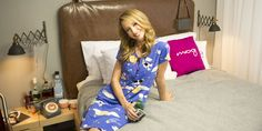 """We asked Taryn Southern, host of Moxy Hotels' """"Do Not Disturb,"""" who she'd invite to her ultimate sleep over and what she loves in a good hotel. Taryn Southern, Celebrity Travel, Space Travel, Sleepover, Best Hotels, Cuddling, Invite, Love Her, Culture"""