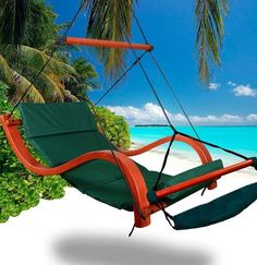 New Deluxe Hammock Air Chair Burgundy Padded Hanging Chair Lounge Outdoor  Patio | Air Chair, Hanging Chairs And Patios