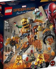 Shop LEGO Marvel Super Heroes Molten Man Battle 76128 at Best Buy. Find low everyday prices and buy online for delivery or in-store pick-up. Lego Batman Scarecrow, Lego Marvel Spiderman, Batman Lego, Lego Marvel's Avengers, Lego Marvel Super Heroes, Superhero, Legos, Marvel Universe, Casa Lego