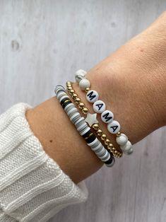Ethnic bracelet silver and yellow mustard glazed range