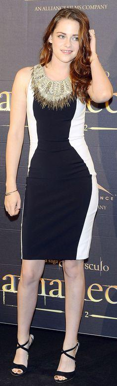 Kristen Stewart at the Breaking Dawn 2 Press Conference In Madrid - November 2012
