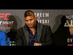 MMA Alistair Overeem: 'CM Punk is Making a Mistake' (UFC 203)