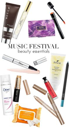 The 12 Music Festival Beauty Essentials You Need to Have