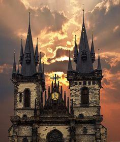 Praga República Checa iglesias de capital casco antiguo
