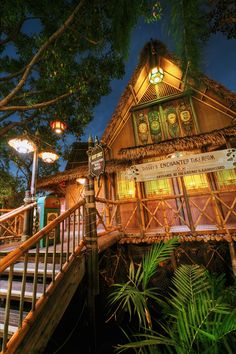 *m. Disneyland's Beautiful Tiki Room