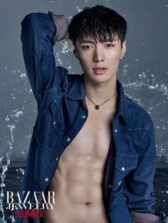 EXO's Lay Shows Off His Wash Board Abs in | Koogle TV