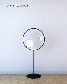 Lamp with function of clock