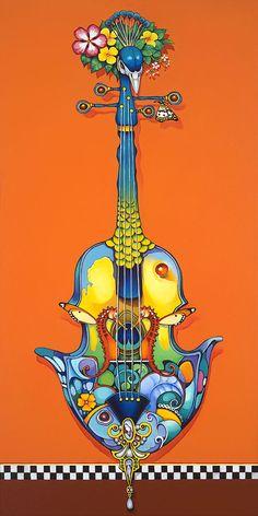 Violin Azul ~ Orestes Bouzon