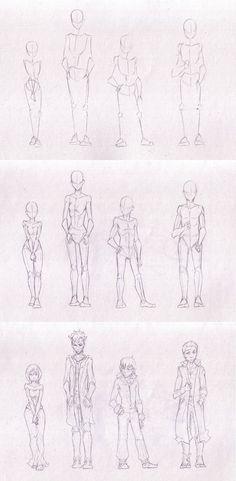 Sketches 46 - Character process by Azizla.deviantart.com on @DeviantArt