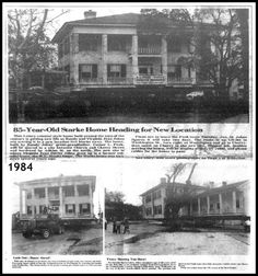 Perryman home moved 1984 Florida, Local History, Bradford