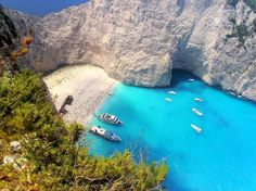The Most Beautiful Beach in Greece i want to go to there