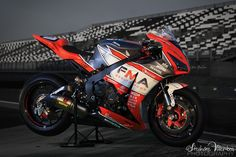 Honda CBR1000 Endurance - Team FMA assurances team