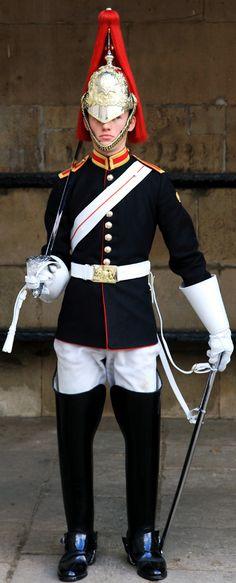 Blues and royals trooper