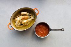 Chicken with lime & sweet tomato sauce