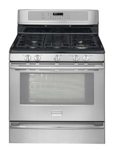 My stove - Frigidaire Professional Stainless Steel Gas Range
