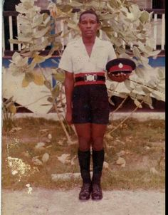 Police officer back in the days