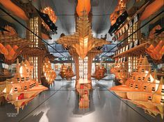 Jakob   MacFarlane Experiment With Illusions and Reflections in Paris Perfume Boutique