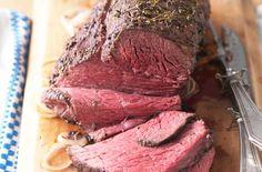 Mustard and thyme roast beef recipe - goodtoknow