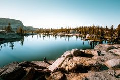 Camping at Chewing Gum Lake in Emigrant Wilderness