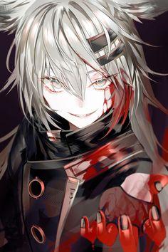 Dark Anime Girl, Anime Wolf Girl, Anime Art Girl, Anime Art Fantasy, Dark Fantasy Art, Chica Anime Manga, Kawaii Anime, Anime Guys, Anime Character Drawing