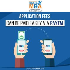 No more hassle of standing in a queue to pay application fees.  Register Now: http://qoo.ly/ef7xs   #MBA #Admissions #Enrollment #Success #PaytmKaro