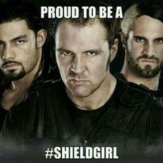 Yes, I am! I'm so proud to be fans of these gorgeous men! The Shield