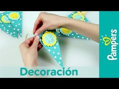 DIY Decoración Para Baby Shower: Guirnalda Decorativa | Pampers - YouTube