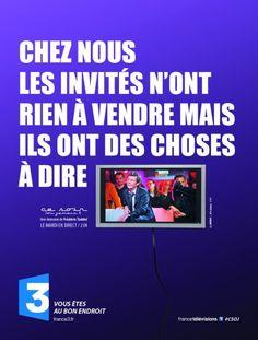 Le Bouquinovore: Campagne de pub décalée pour France 3
