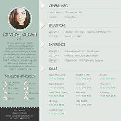 infographic resume psd on behance resume pinterest