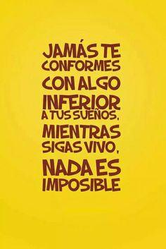 No hay nada imposible en las manos de Dios ❤