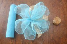 How to Make a Deco Mesh Pom Pom : Factory Direct Craft Blog
