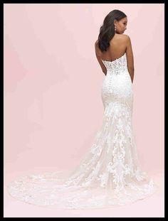 a743b8cb7f00 Allure Romance Style 3208 (back) Sample size. Best Celebration Days · Wedding  Dress & Shoes
