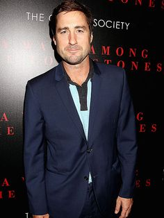 Star Tracks: Thursday, September 18, 2014 | THE NAVY YARD | Luke Wilson gives a sly grin at The Cinema Society screening of A Walk Among the Tombstones on Wednesday at the Bow Tie Chelsea Cinemas in New York City.