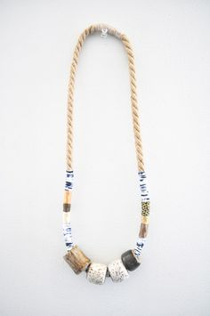 4-Bead Necklace - Object and Totem