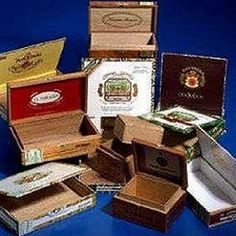 Wooden Empty Cigar Box; pack of 10 by Varied Brands, http://www.amazon.com/dp/B000NW2DH8/ref=cm_sw_r_pi_dp_DwjSrb01HWZ9E