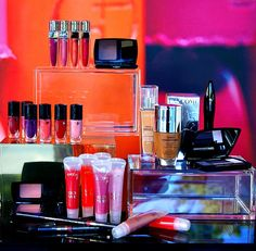 Cosmetics Window Display
