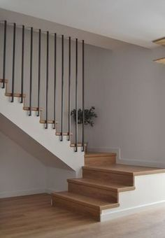 stairs for loft space saving \ stairs for loft bed + stairs for loft + stairs for loft conversion + stairs for loft bed diy projects + stairs for loft space saving Loft Stairs, Staircase Railings, Basement Stairs, House Stairs, Bed Stairs, Modern Basement, Banisters, Stairways, Railing Design