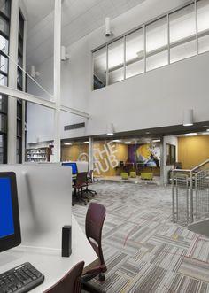 Andersson Architecture + Design's O'Fallon Public Library project, Photo Credit: Alise O'Brien Photography