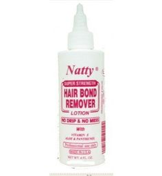 Natty Super Strength Hair Bond Remover Lotion 4oz [SEALED] -- This is an Amazon Affiliate link. You can find more details by visiting the image link.