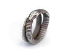 Snake Ring by Michael Mueller, via Behance
