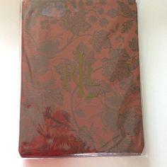Ralph Lauren Rust Campbell Cloth Tablecloth 60 x 104 NEW Oblong Cotton #RalphLauren